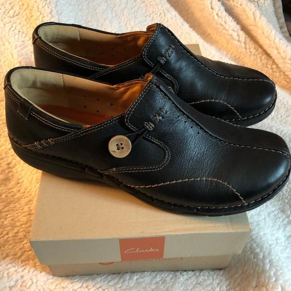 138dc5a87 Clarks Shoes - Clarks unstructured Unloop Black size 10 ladies